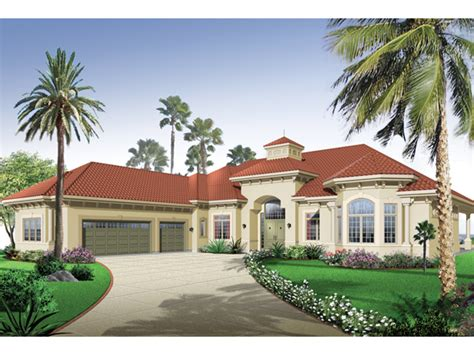 Florida Style Homes san jacinto florida style home plan 032d 0666 house