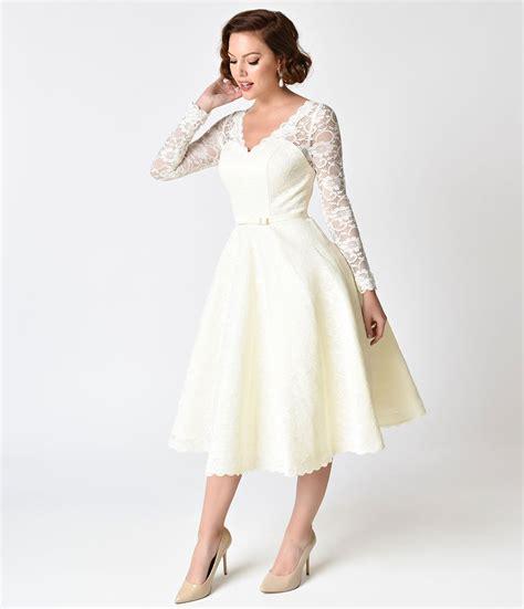 swing style martinique lace bridal swing dress unique vintage