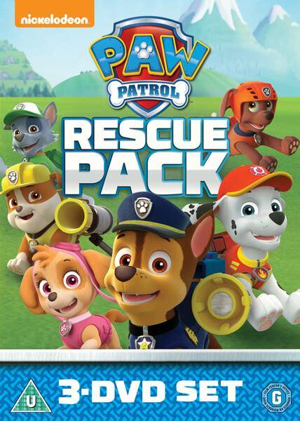 large paw patrol boat paw patrol 1 3 rescue pack dvd zavvi
