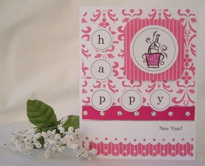 New Year Handmade Cards Ideas - new year cards send a handmade greeting card with this