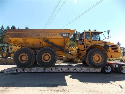 volvo highway trucks 2007 volvo a40d off highway truck for sale 14 126 hours