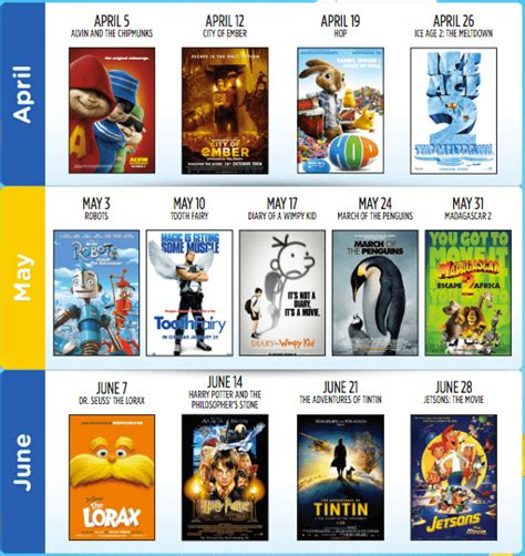 cineplex family favorites cineplex canada family favourites event watch your movies