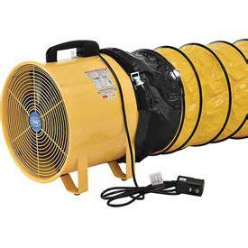 Fan Exhaust Besi Industrial 16 fans blower fans global portable ventilation fan 8 inch with 16 ducting