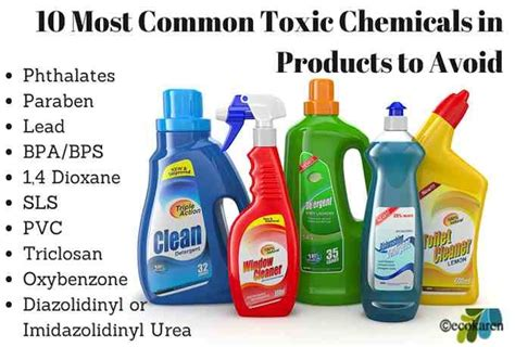 toxic household chemicals 28 toxic household chemicals fine design green is