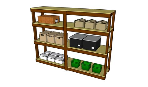 pdf diy garage shelving plans wood free wooden