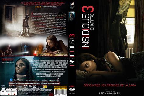 film insidious chapitre 3 streaming jaquette dvd de insidious chapitre 3 custom cin 233 ma passion