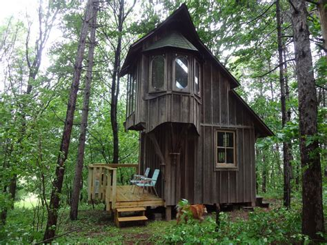 micro cabins cottage on a hill tiny house swoon