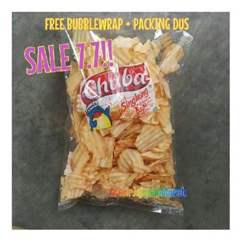 big sale chuba keripik singkong rasa keju snack kiloan