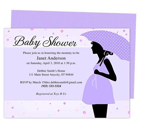 templates for making invitations free baby shower invitations templates pdf theruntime com