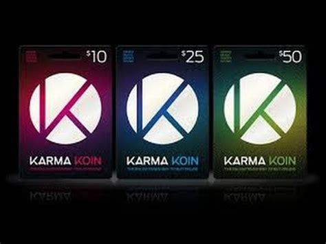 Karma Koin Giveaway - free karma koins doovi