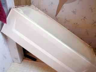 removing an old bathtub replace or repair a mobile home bathtub mobile home repair