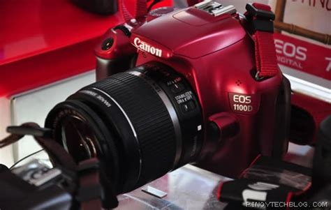 Kamera Dslr Canon Eos 1100d Kit 1 Color canon eos 1100d brings color to dslrs tech