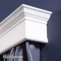 A Cornice How To Build Window Cornices The Family Handyman