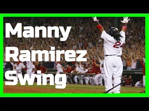 manny ramirez swing manny ramirez swing like the greats