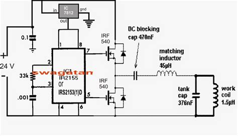 zvs induction heater schematic pdf solar induction heater circuit