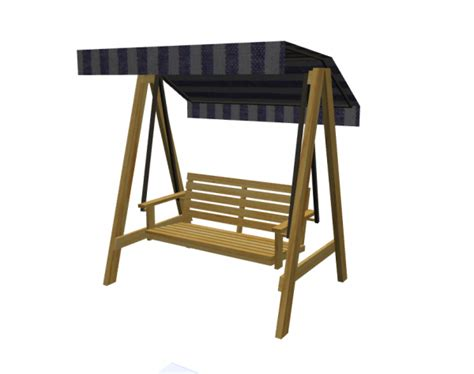 swing objects swing outdoor chair for archicad modlar com