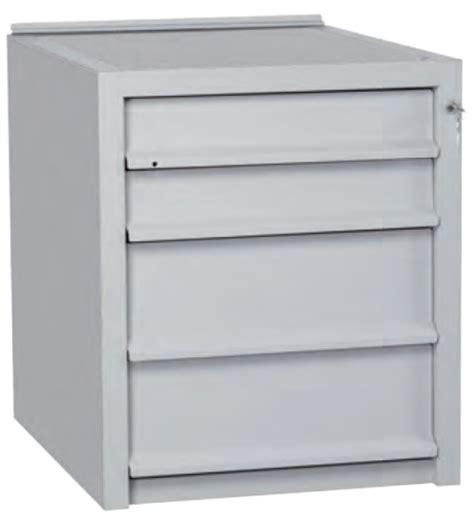 cassettiere in ferro cassettiera in ferro 4 cassetti per tavolo da lavoro