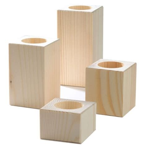 Wooden Candle Stands Wooden Candle Holders In Various Sizes Homecrafts
