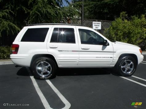 2002 White Jeep Grand 2002 White Jeep Grand Limited 4x4 27449677