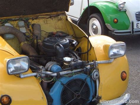 Citroen 2cv Engine by Citroen 2cv Drag Racing