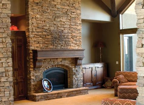 How To Reface Your Kitchen Cabinets make a stone fireplace without stone faux direct