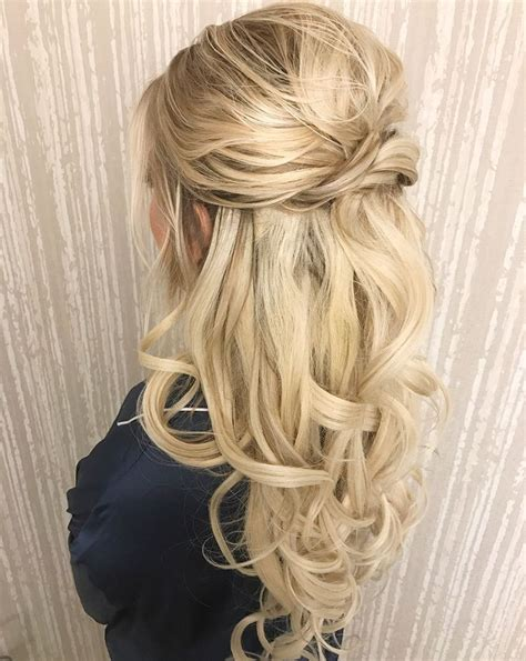 best 25 half hairstyle ideas on best 25 wedding hairstyles ideas on wedding
