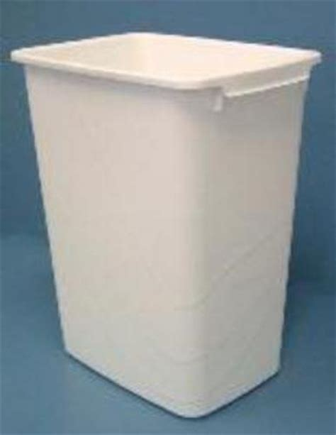 replacement trash can 50 quart white rv 50 52