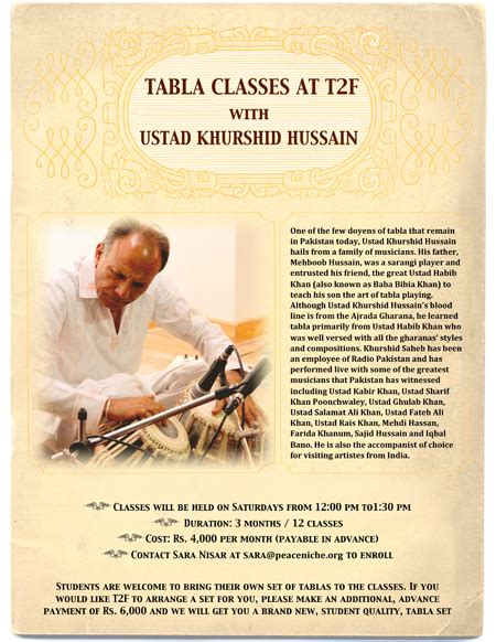tabla lessons music lessons in karachi at karachisnob com