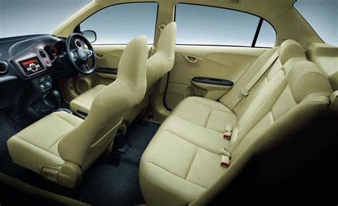 honda brio interior honda amaze diesel interiors best entry level sedan
