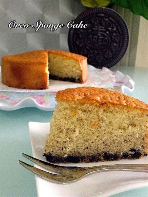 culinary kitchenette oreo sponge cake  vanessa tay