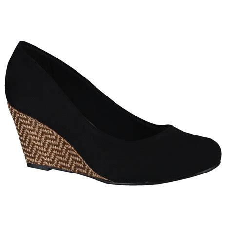 Sapato Anabela Moleca 5270.500   Preto (Camurça Flex)   Calçados Online Sandálias, Sapatos e