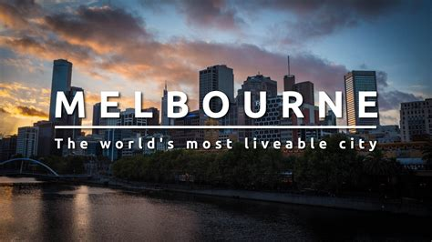 melbourne australia the world s most liveable city youtube