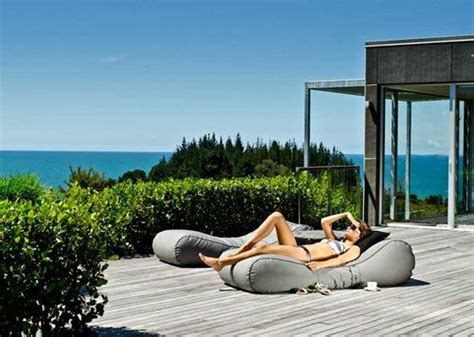 outdoor bean bag lounger by lujo 13 best outdoor furniture images on outdoor
