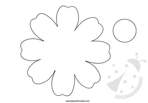 sagome fiori di carta primavera sagome fiori