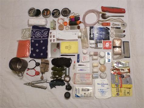 Set Cermin Pouch Kecil survival kit wisata gunung indonesia
