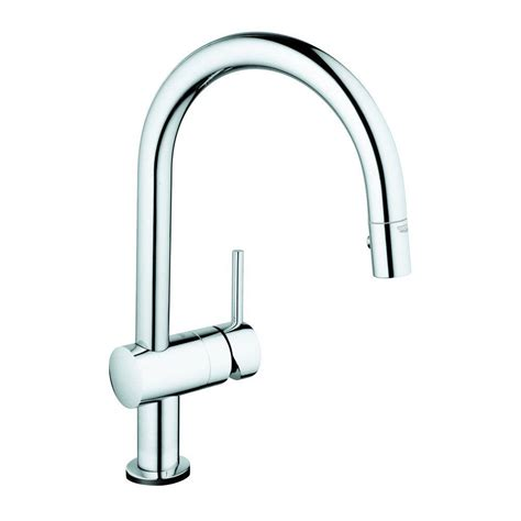 grohe minta touch single handle pull sprayer kitchen