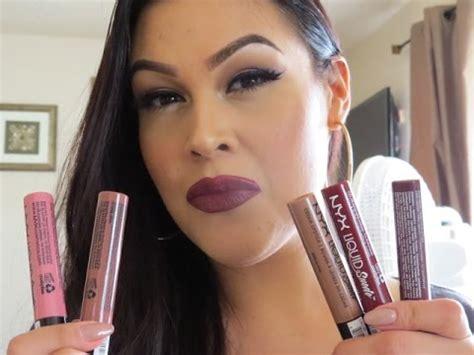 Lipstik Nyx Simply V nyx liquid suede lipsticks review