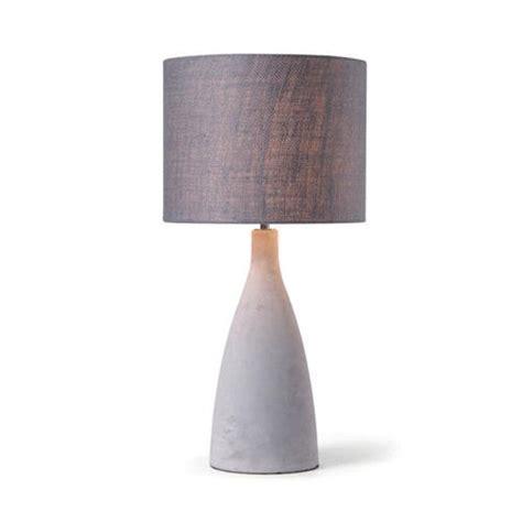 light concrete table concrete l modern lighting table light desk cement