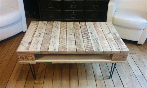 La table basse en bois de palette de Géraldine   DIY
