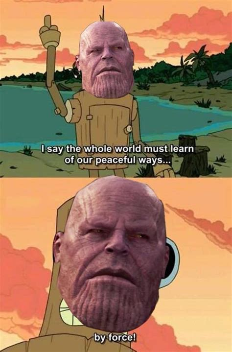 thanos   wrong   memes