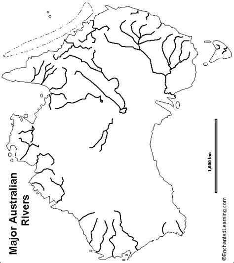 australia river map australian information 183 storify