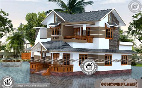 double storey house designs  beautiful houses
