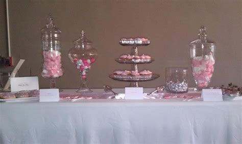 pink and silver table pink and silver dessert table our creations