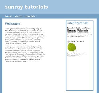 web layout gimp gimp web layouts simple web design tutorial