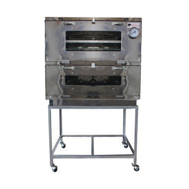 Oven Gas Kiwi jual kiwi stainless steel oven gas perak 60 cm