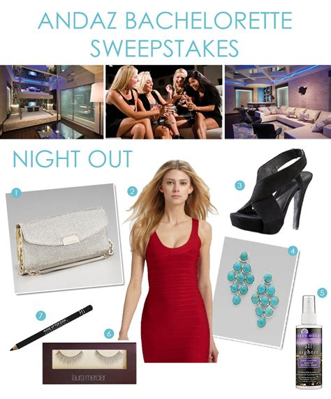 Bachelorette Sweepstakes - giveaway bachelorette party at the andaz exquisite weddings