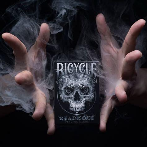Bicycle Dead Soul Deck Bonus Deck 1 deck bicycle dead soul cards magic tricks black colors standard magic card magic