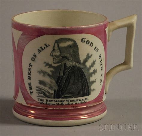 Pink Skinner T1910 3 Sunderland Pottery Pink Lustre And Transfer Decorated Quot Rev