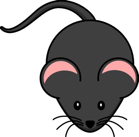 Mouse Clipart by Mouse Pink Clip At Clker Vector Clip