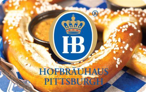 Pittsburgh Restaurant Gift Cards - hofbrauhaus pittsburgh egift card giftcardmall com